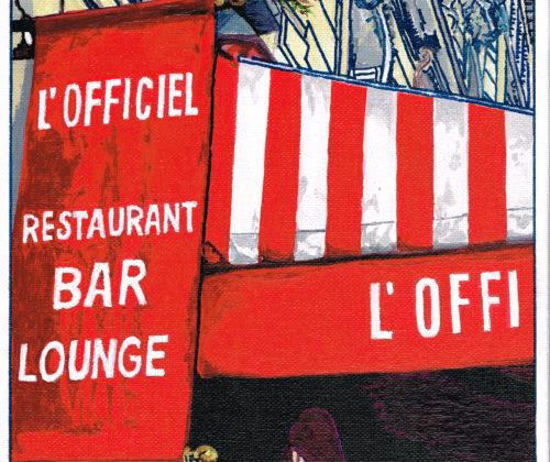 FABRICE – Atelier de Verdure – Paris Lounge Bd Haussmann 8eme Paris