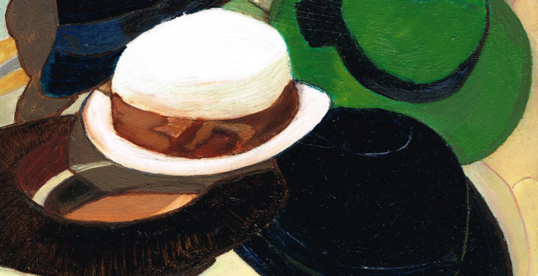 DARTIGUENAVE Catherine – Reunion de chapeaux (2019)
