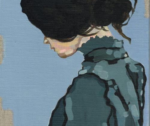 DUCRAY LUCIE – Femme col bleu (2019)