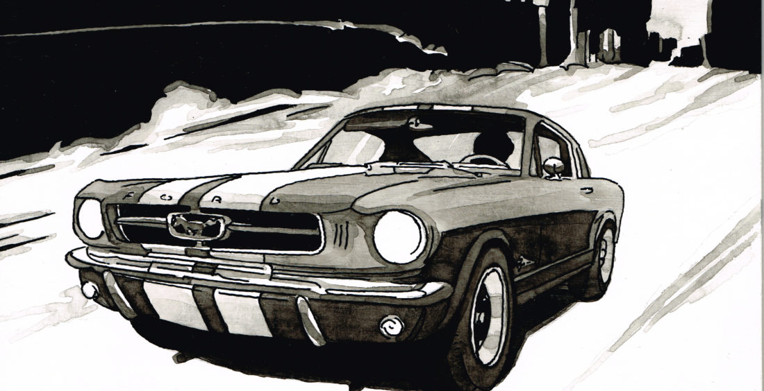 PSYKO – Art mécanique Ford Mustang Shelby (1965)